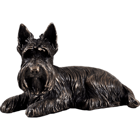 Scottie Dog Cold Cast Bronze Sculpture
